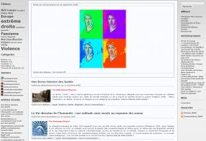 FTP version 1.0 (capture de la une du 3/10/2014 via la WaybackMachine)